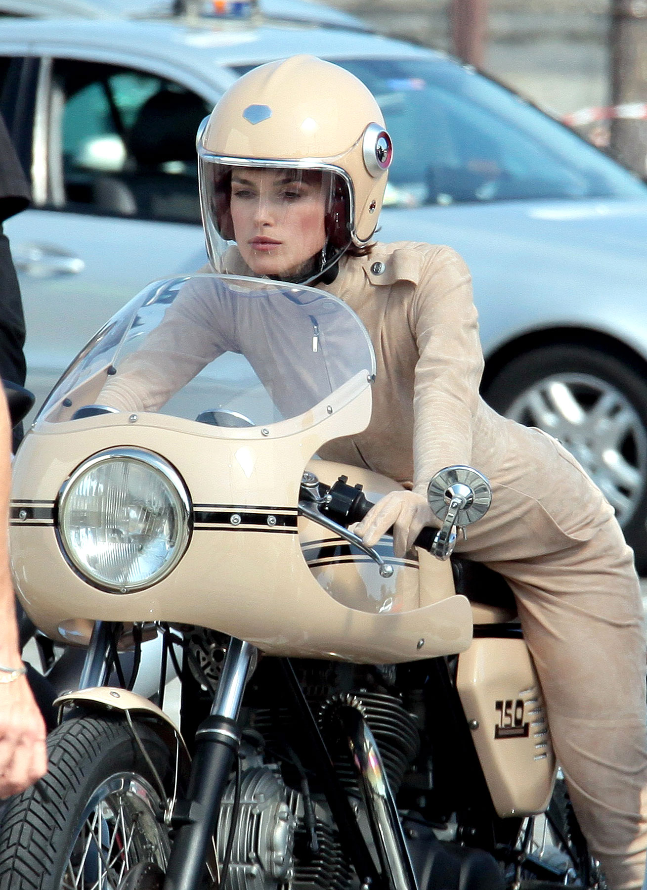 Keira Knightley Rides with Chanel (PHOTOS)