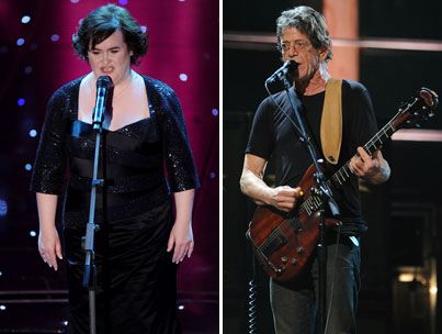 Did Lou Reed Make Susan Boyle Cry?