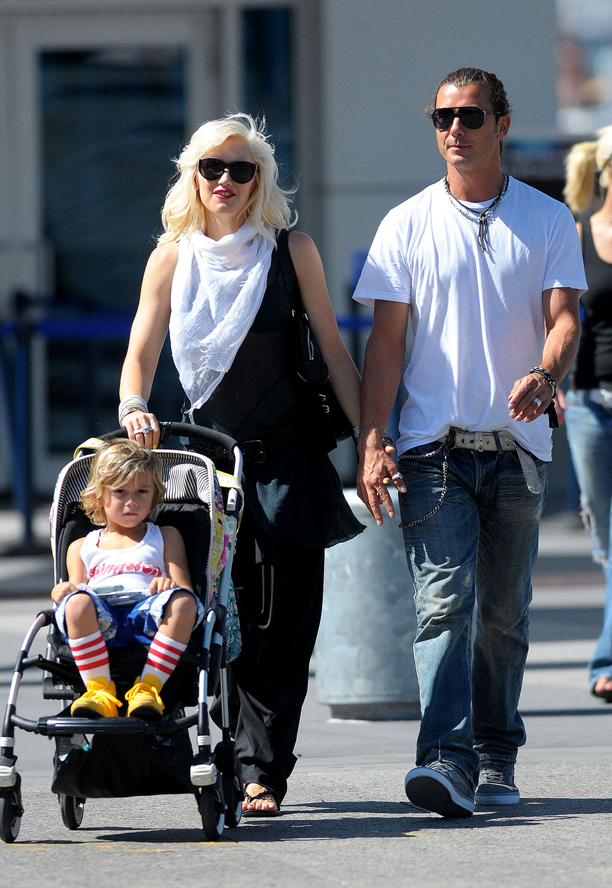 Gwen Stefani and Gavin Rossdale Have a Family Day