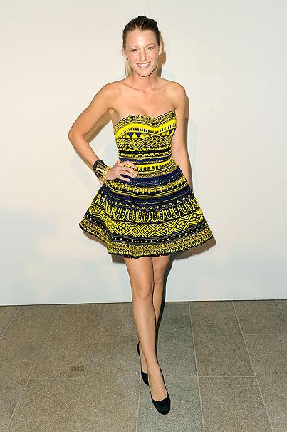 Celebrities Invade New York Fashion Week 2010 (PHOTOS)