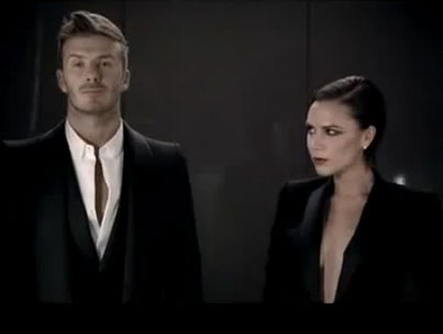 David and Victoria Beckham's Steamy Fragrance Ad (VIDEO)-photo