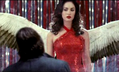 Megan Fox Spreads Her Wings For Mickey Rourke (VIDEO)