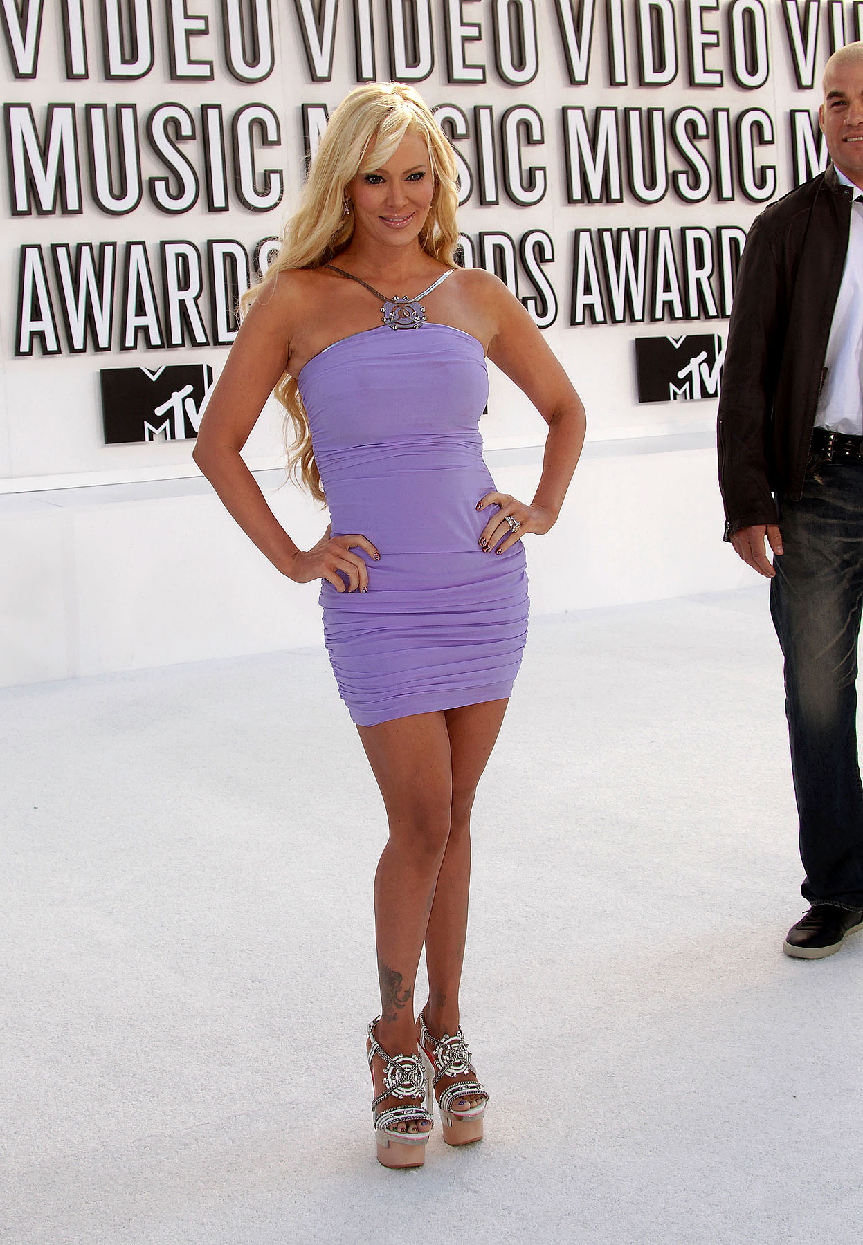 Jenna Jameson at the 2010 MTV Video Music Awards (PHOTOS)