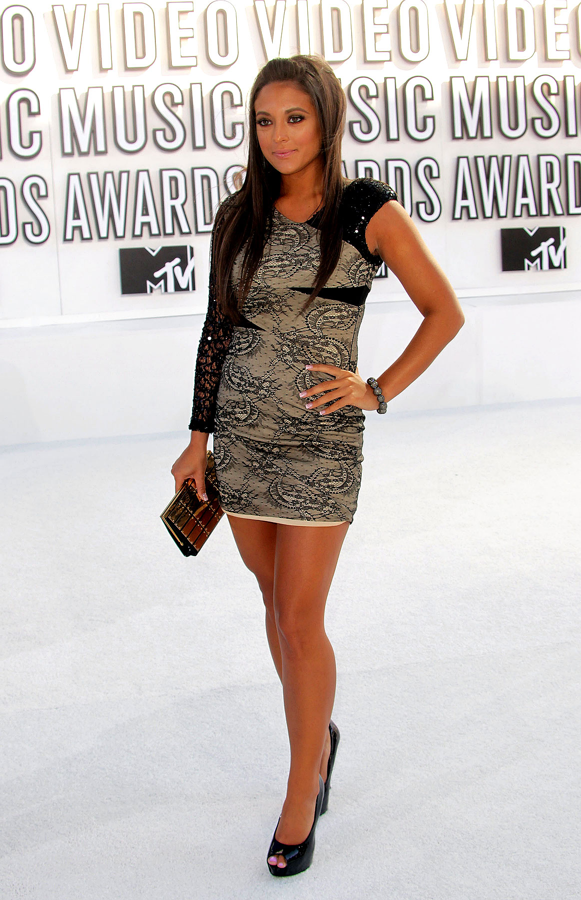 Sammi Sweetheart at the 2010 MTV Video Music Awards (PHOTOS)