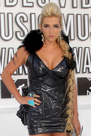 Ke$ha at the 2010 MTV Video Music Awards (PHOTOS)
