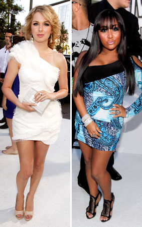 The 2010 VMA's White Carpet Fashion Trends (PHOTOS)