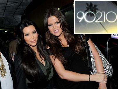 Kim and Khloe Take on '90210 '