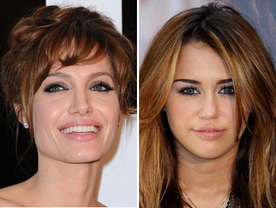 Angelina Jolie, Miley Cyrus Named Top Role Models