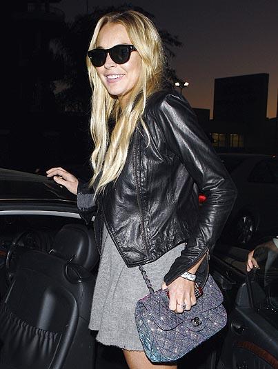 Lindsay Lohan Resumes Clubbing Habit Post-Rehab