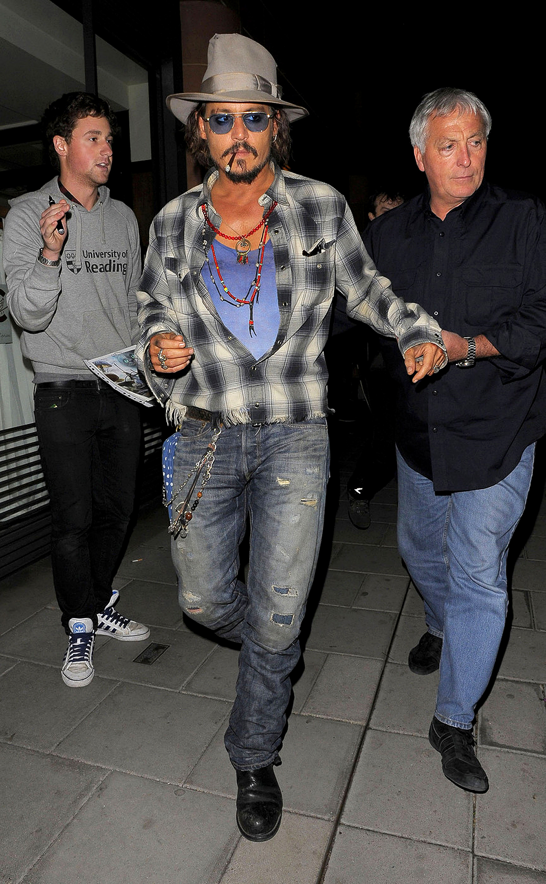 Johnny Depp and Keith Richards Dine Out (PHOTOS)