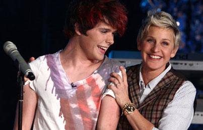 Ellen DeGeneres Signs New Artist to Record Label