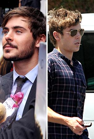 The Evolution of Zac Efron's Beard (PHOTOS)