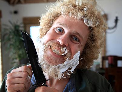 Spencer Pratt Shaves His Beard