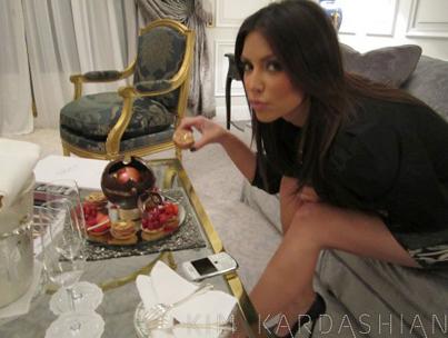 Kim Kardashian Takes Paris