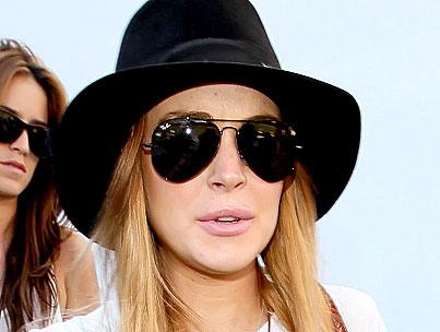 Lindsay Lohan Offered $50,000 Balloon-Fetish Gig