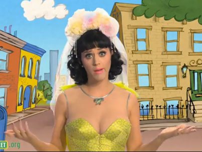 Katy Perry Too Sexy for 'Sesame Street'
