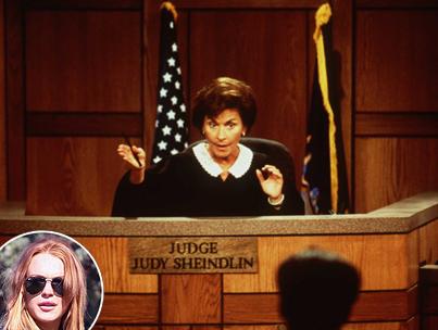 Judge Judy Says Lindsay Lohan Needs Jail Time