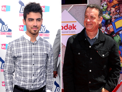 Joe Jonas to Collaborate with Tom Hanks