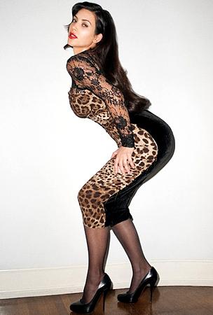 Kim Kardashian Poses for Terry Richardson