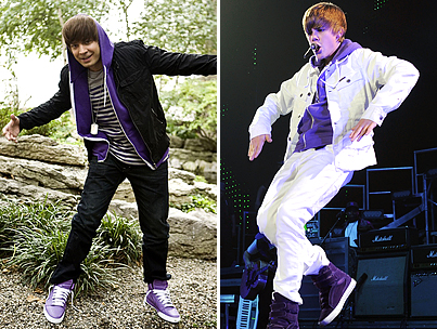 Jimmy Fallon Channels Justin Bieber