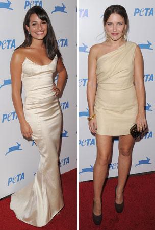 PETA Fashion Face-Off: Lea Michele vs. Sophia Bush