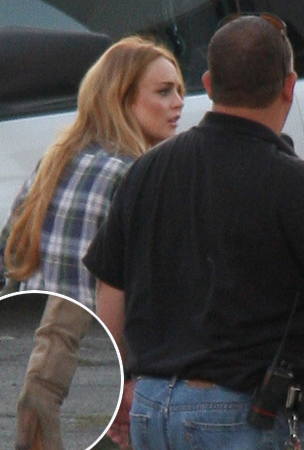 Lindsay Lohan's Got a New SCRAM Bracelet (PHOTOS)