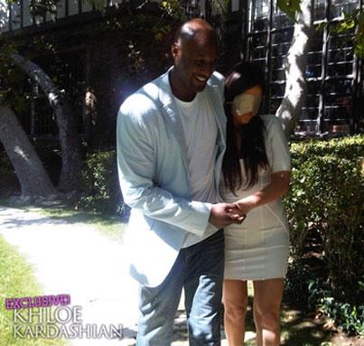 Khloe Kardashian & Lamar Odom Renew Their Vows