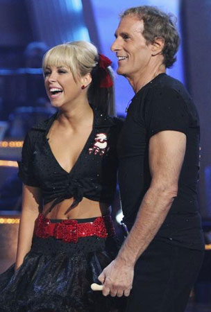 Michael Bolton Booted on 'Dancing with the Stars' (VIDEO)