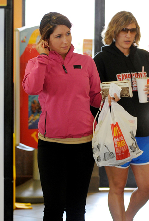 Bristol Palin Stays Fit With McDonald's (PHOTOS)