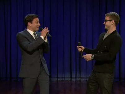 Jimmy Fallon and Justin Timberlake Rap it Up (VIDEO)