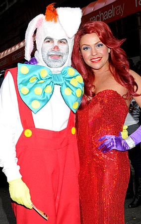 Rachael Ray Does Jessica Rabbit for Halloween (PHOTOS)