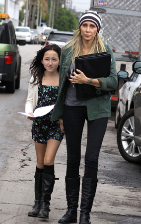 Noah Cyrus Auditions for 'Wizards of Waverly Place' (PHOTOS)