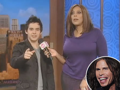David Archuleta on Steven Tyler: Who's That Lady? (VIDEO)