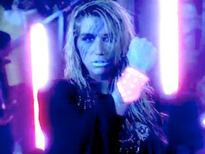 Ke$ha Glows in New 'Take It Off' Video