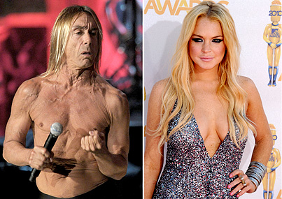 Could Lindsay Lohan Star as Iggy Pop?