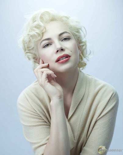 Michelle Williams as Marilyn Monroe: First Look!
