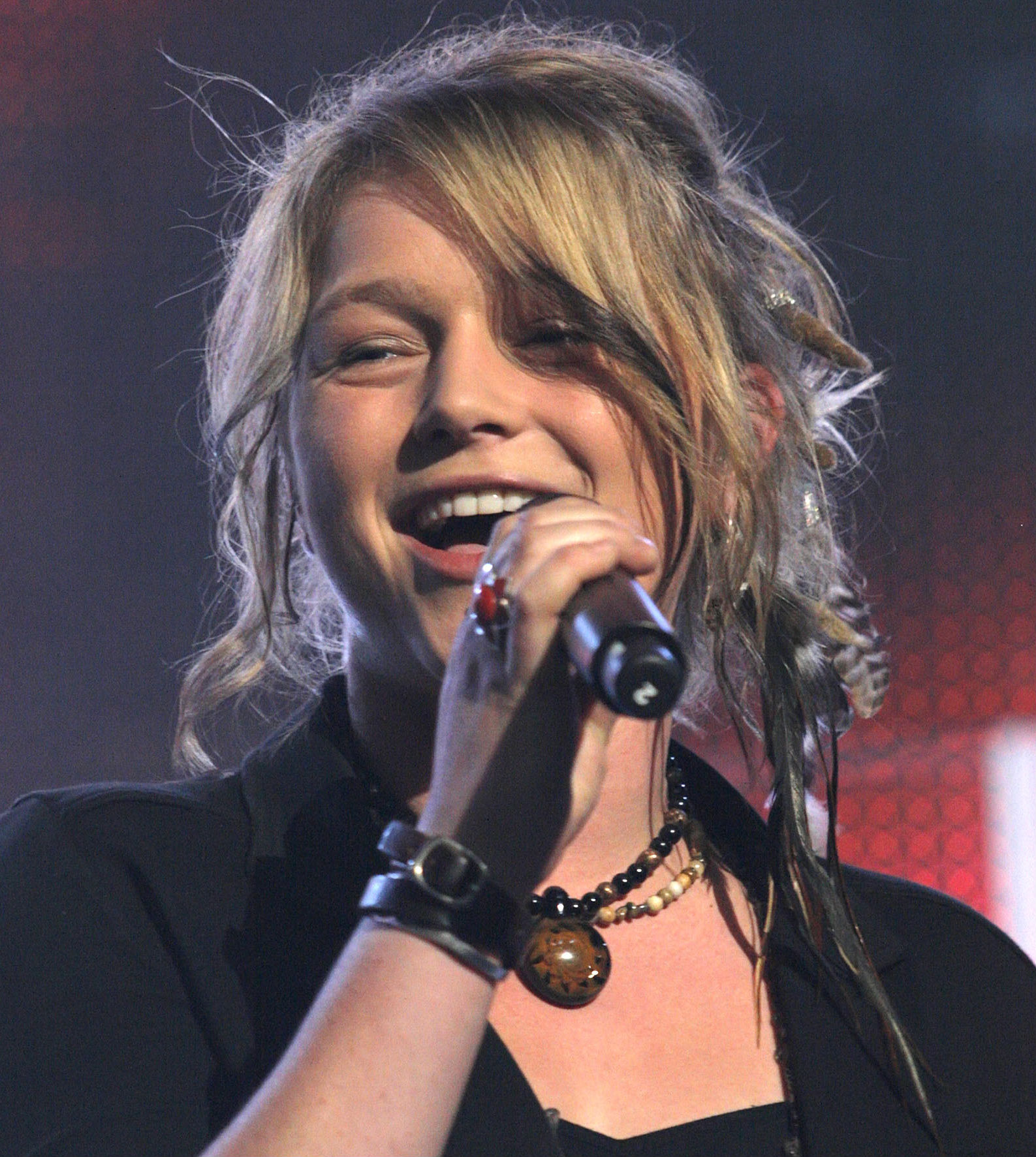 'Idol's' Crystal Bowersox Got Hitched