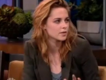 Kristen Stewart Talks 'Rileys' With Jay Leno (VIDEO)