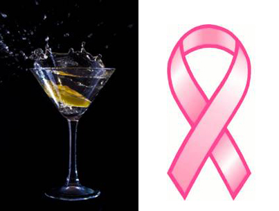 Celebs Raise a Glass for Breast Cancer Awareness