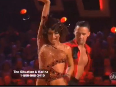 The Situation Performs Worst 'DWTS' Dance Ever? (VIDEO)-photo