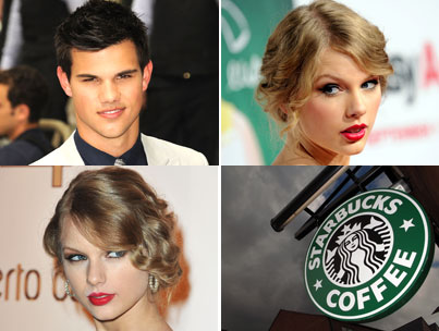 Taylor Swift Admits Crush on Taylor Lautner, Starbucks