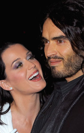Katy Perry & Russell Brand's TMI Tweets