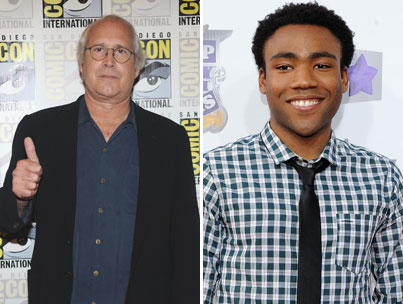 Donald Glover: Chevy Chase Doesn't Understand Email