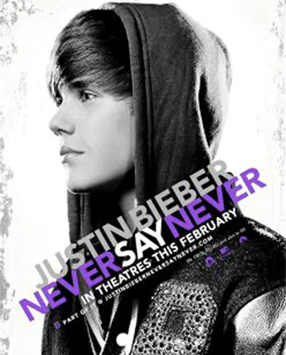 Bieber Reveals 3D Movie Title: 'Never Say Never' (VIDEO)