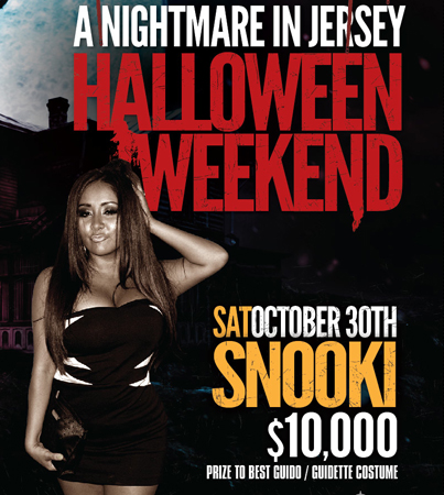 Snooki, Situation Hosting Vegas Halloween Blowouts