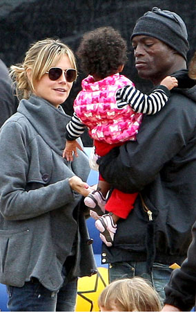 Heidi Klum and Her Family Patch Things Up (PHOTOS)