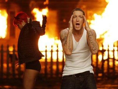 Rihanna and Eminem Recording 'Love the Way You Lie' Sequel