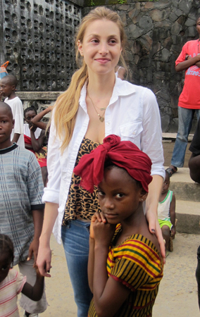 Whitney Port Visits An Orphanage in Africa (PHOTOS)