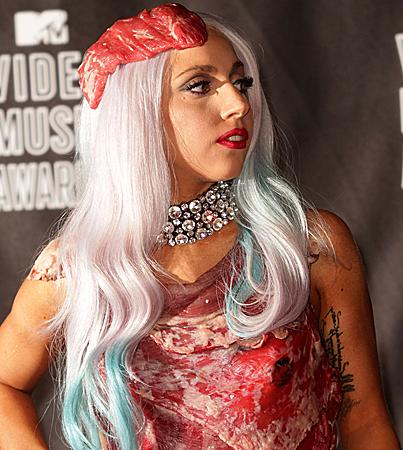 Butchers Warn Lady Gaga Fans Not to Wear Meat for Halloween