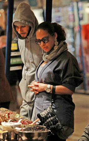Alicia Keys, Swizz Beatz and Baby Hit The Town (PHOTOS)